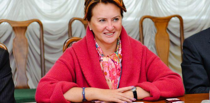 Елена Скрынник в часах за 43 тысячи евро