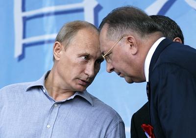 Николай Токарев наследил во дворце Путина